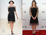 Nikki Reed In Lela Rose - 'Murder of a Cat' Tribeca Film Festival Premiere