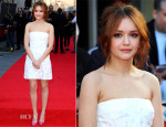 Olivia Cooke In Mulberry - 'The Quiet Ones' World Premiere