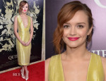 Olivia Cooke In Sally LaPointe - 'The Quiet Ones' LA Premiere