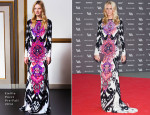 Poppy Delevingne In Emilio Pucci - The Glamour of Italian Fashion Exhibition Preview