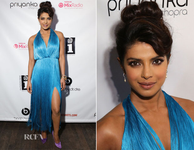 Priyanka Chopra In Tamara Mellon - 'I Can't Make You Love Me' Video Premiere