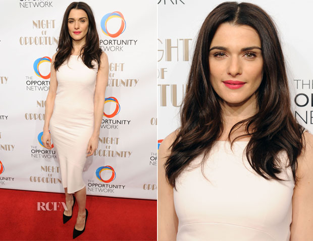 Rachel Weisz In Narciso Rodriguez - The Opportunity Network's 7th Annual Night of Opportunity