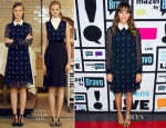 Rashida Jones In Erdem - Watch What Happens Live