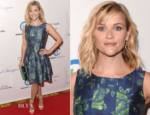 Reese Witherspoon In Oscar de la Renta - The Colleagues' 26th Annual Spring Luncheon