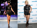 Rita Ora In Jean Paul Gaultier - SiriusXM Studios