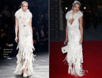 Rita Ora In Roberto Cavalli - The Glamour of Italian Fashion Exhibition Preview
