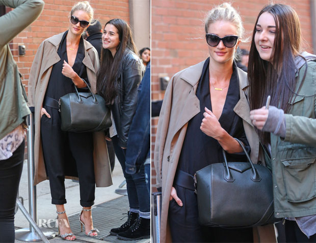 Rosie Huntington-Whiteley In Isabel Marant - Milk Studios New York