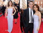Samantha Barks In Burberry Prorsum - Laurence Olivier Awards 2014