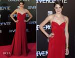 Shailene Woodley In Donna Karan Atelier - 'Divergent' Madrid Premiere