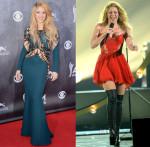 Shakira In Zuhair Murad & Kristian Aadnevik - ACM Awards 2014