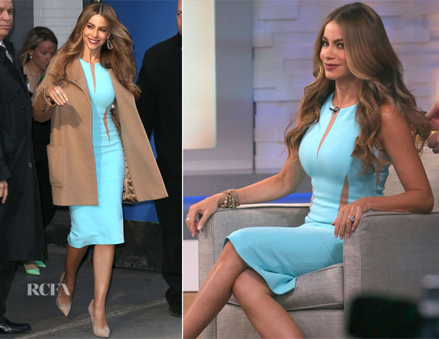 Sofia Vergara In Michael Kors - Good Morning America