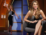 Sofia Vergara In Roland Mouret - Late Night with Seth Meyer