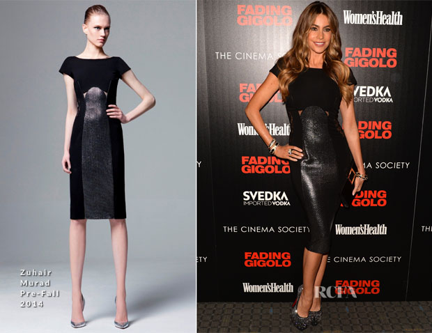 Sofia Vergara In Zuhair Murad - 'Fading Gigolo' New York Screening