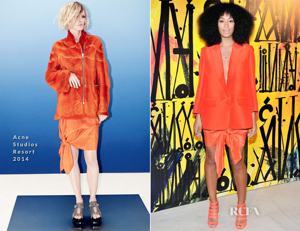 Solange Knowles In Acne Studios - Jimmy Choo's CHOO