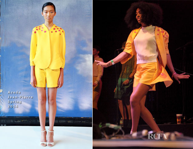 Solange Knowles In Azede Jean-Pierre - Coachella Music Festival 2014
