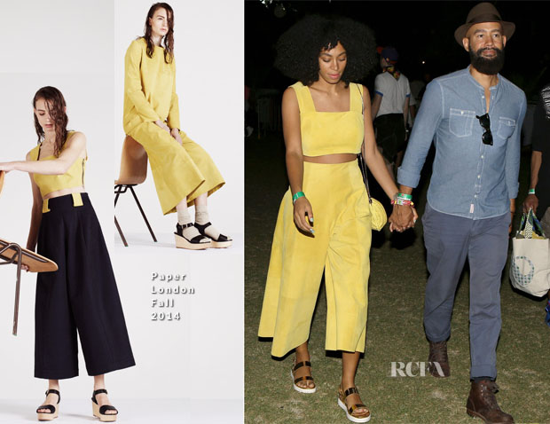 Solange Knowles In Paper London - Coachella Music Festival 2014