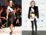St. Vincent In Céline - 29th Annual Rock And Roll Hall Of Fame Induction Ceremony