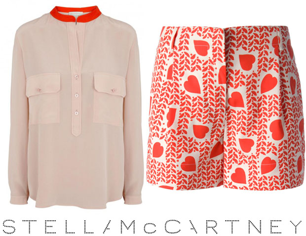 Stella McCartney Heart Print Fergie