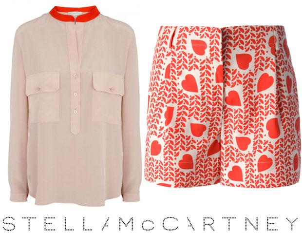 Stella McCartney Heart Print Fergie