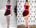 Suki Waterhouse In Victoria Beckham - Fashion Targets Breast Cancer Launch Party