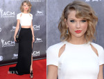 Taylor Swift In J. Mendel - ACM Awards 2014