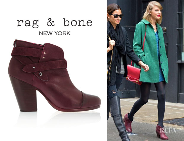 Taylor Swift's Rag & Bone 'Harrow' Leather Boots