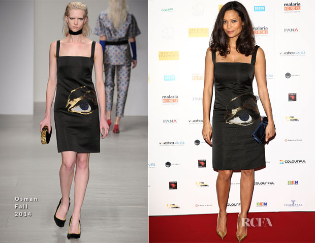 Thandie Newton In Osman - 'Half Of A Yellow Sun' London Premiere