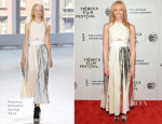 Toni Collette In Proenza Schouler - 'Lucky Them' Tribeca Film Festival Premiere