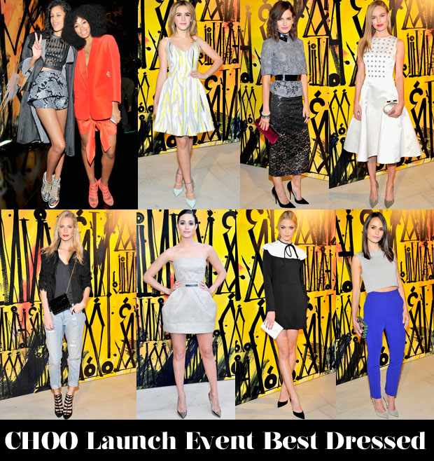 Who Was Your Best Dressed At The CHOO08 Launch Event