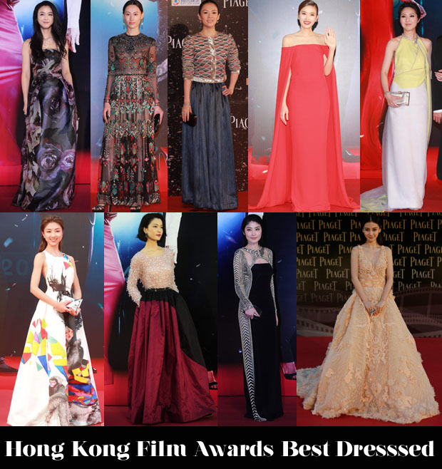 Who Was Your Best Dressed At The Hong Kong Film Awards