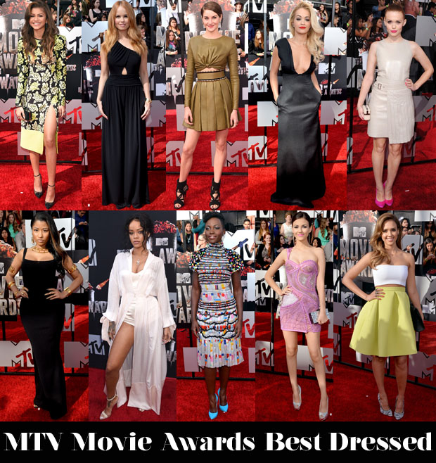 Who Was Your Best Dressed At The MTV Movie Awards