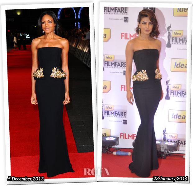 Who Wore Alexander McQueen Better Naomie Harris or Priyanka Chopra