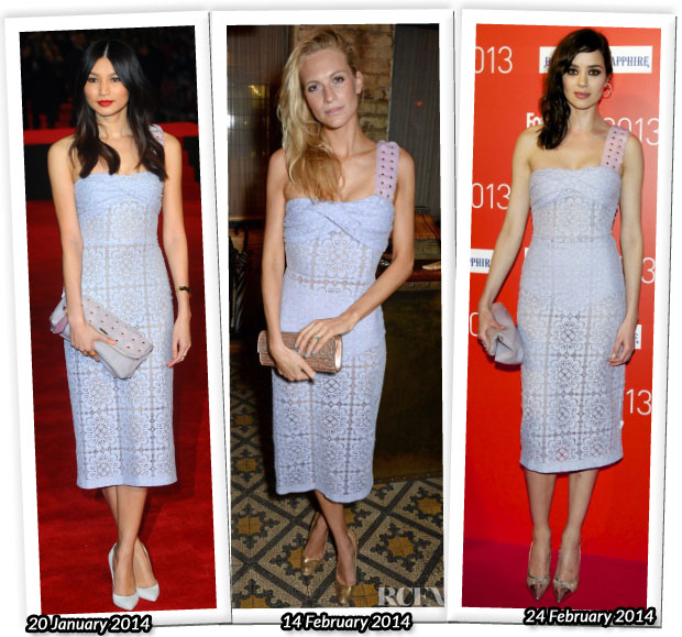 Who Wore Burberry Prorsum Better Gemma Chan or Poppy Delevingne