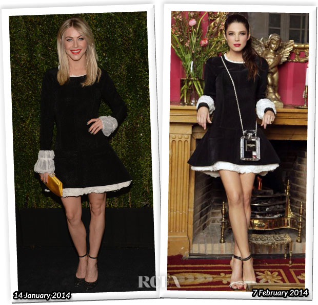 Who Wore Chanel Better Julianne Hough or Juana Acosta