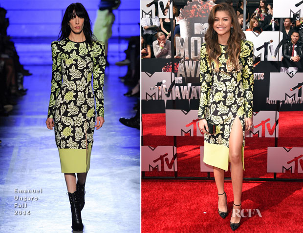 Zendaya Coleman In Emanuel Ungaro - MTV Movie Awards 2014