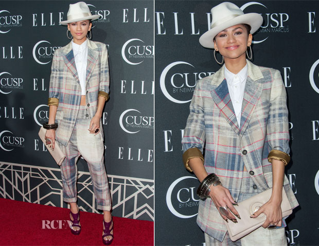 Zendaya Coleman In Vivienne Westwood - ELLE's 5th Annual Women In Music Concert Celebration