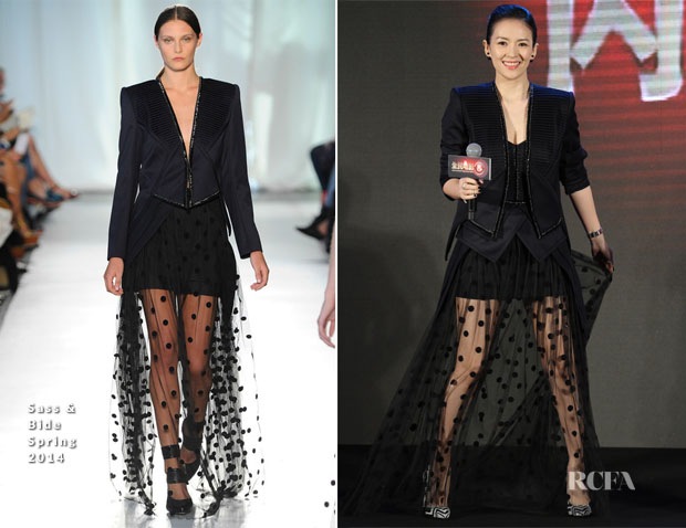 Zhang Ziyi In Sass & Bide - 'Entertainment Experience China' Launch