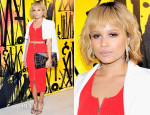 Zoe Kravitz In Alexander Wang - Jimmy Choo's CHOO.08˚Launch