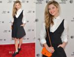 Zoe Levin In Chanel - 'Palo Alto' Tribeca Film Festival Premiere