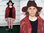 Zosia Mamet In Rebecca Minkoff - 'Farmland' New York Screening