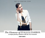 The Glamour of Italian Fashion Exclusive Jewelry Collection