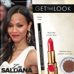 Get The Look: Zoe Saldana's Cannes Film Festival Opening Ceremony Makeup