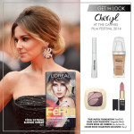 Get The Look: Cheryl Cole's Cannes Blonde Dip Dye Look