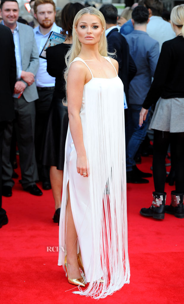 Emma Rigby in Tom Ford
