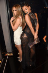 Jennifer Lopez in Zuhair Murad and Rihanna in Givenchy Couture