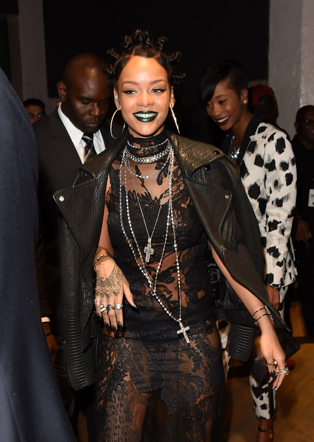 Rihanna in Givenchy Couture