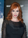 Christina Hendricks in Jenny Packham