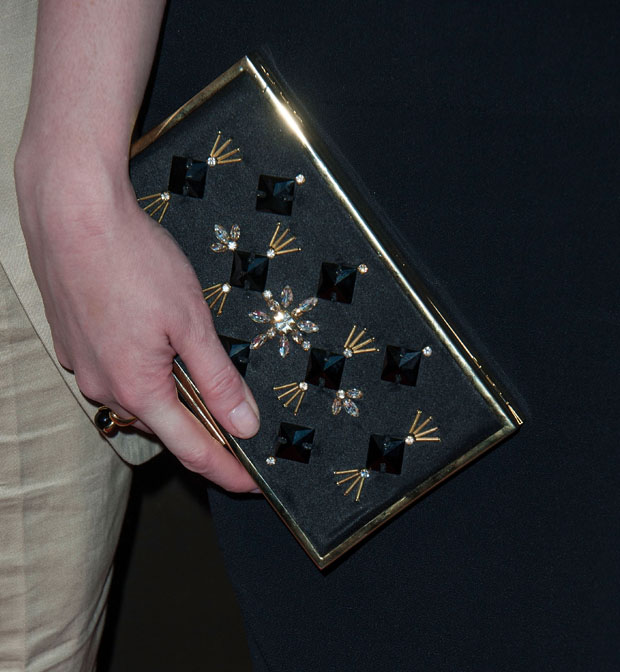 Christina Hendricks' Jenny Packham clutch