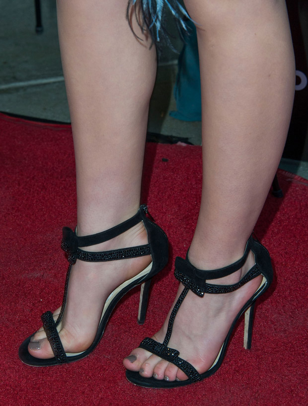 Kiernan Shipka's Jimmy Choo 'Escape' sandals