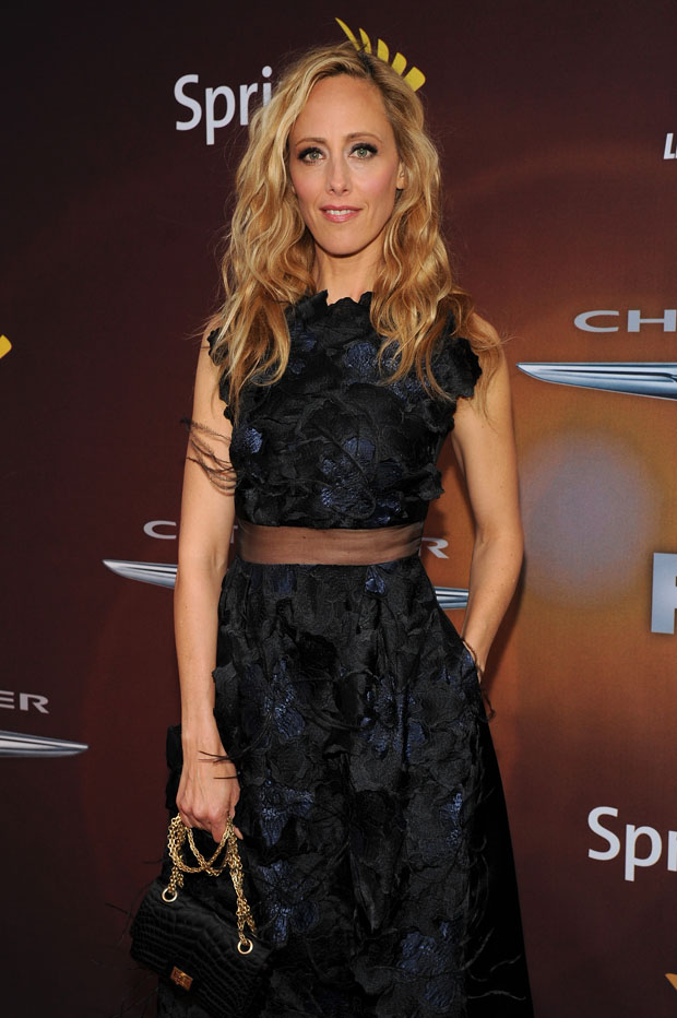 Kim Raver 24 Live Another Day World Premiere Red